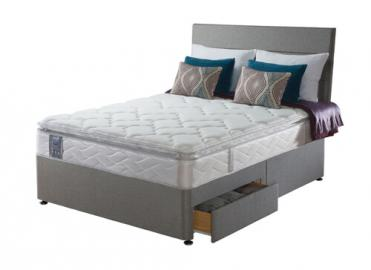 Sealy Posturepedic Pearl Luxury Divan Set -