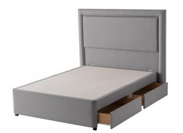 Silentnight Slate Grey Divan Base -