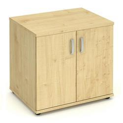 Impulse 600 Desk High Cupboard Maple - I000242