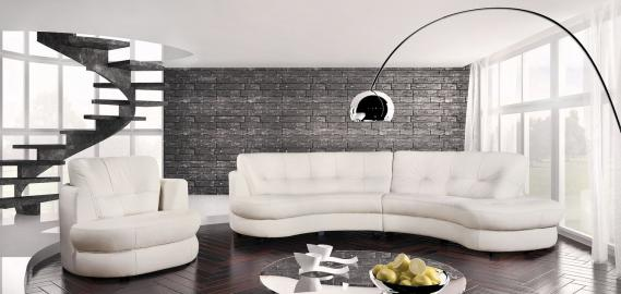 Bretania - Leather corner sofa for sale