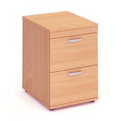 Impulse Filing Cabinet 2 Drawer Beech - I000072
