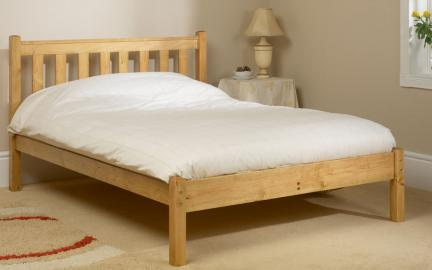 Friendship Mill Shaker Wooden Bed Frame, King Size, No Storage