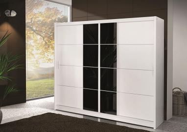 Pedro 250 - black and white wardrobe