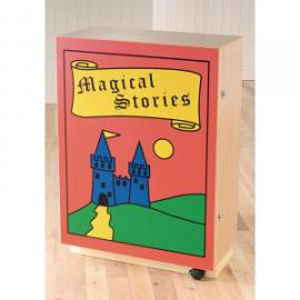 Galt Magical Stories Bookcase 880 x 320 x 1240mm, Free Standing