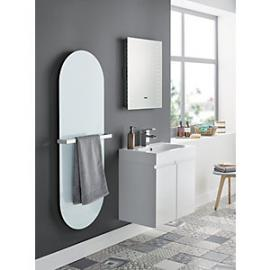Wickes Talana White Gloss Floor Standing J-Pull Vanity Unit - 600mm