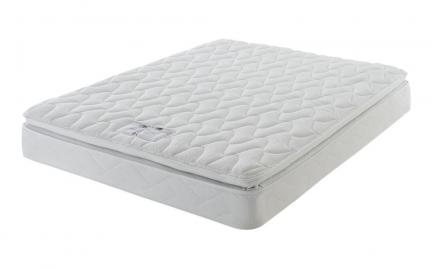 Layezee Comfort Memory Pillow Top Mattress, Single