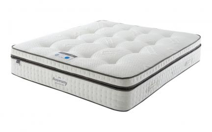Silentnight 70th Anniversary 2000 Mirapocket Geltex Mattress, Single