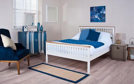 Silentnight Minerve Wooden Bed Frame, Single
