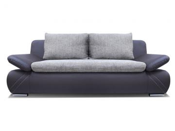 Mia - Fabric and Faux Leather sofa