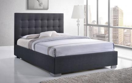 Time Living Nevada Fabric Bed Frame, King Size, Sand