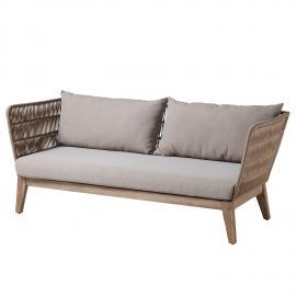 Canapé de jardin Bellano (3 places)