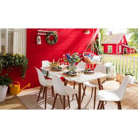 Table de jardin Hawi