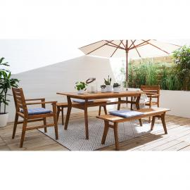 Table de jardin Tibro