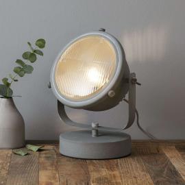 Lampe à poser Carmen au design industriel