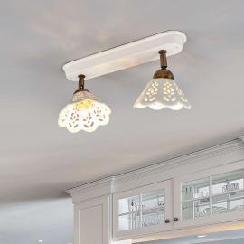 Applique ou plafonnier PORTICO à 2 lampes