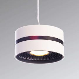 Suspension Black and White III avec LED