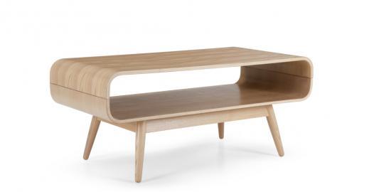 Esme, table basse compacte, frêne