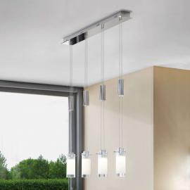 Suspension LED à 4 lampes Aggius