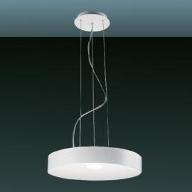 Suspension LED moderne CRATER 21 W blanc mat
