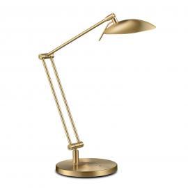 Superbe lampe de bureau LED COIRA laiton mat