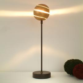Lampe à poser décorative KUGELBLITZ GOLD en fer