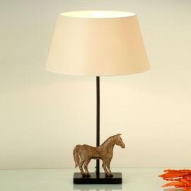 Magnifique lampe à poser Solisti Cavallo