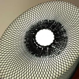 Filet pour lampadaire Warm noir