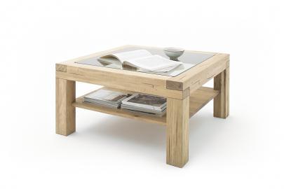 Alec oak - table basse avec rangement