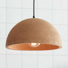 Suspension au design naturel Cork