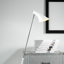 Lampadaire élégant et flexible Liam blanc