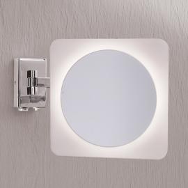 Miroir mural grossissant Tulsi avec éclairage LED
