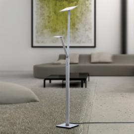 Lampadaire LED Ayana avec liseuse intégrée