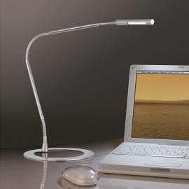 Lampe de bureau filigrane PLAZA, fer
