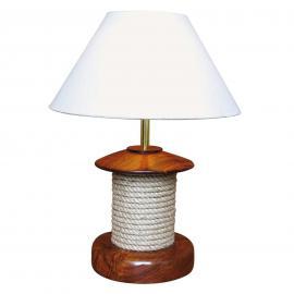 Stupéfiante lampe à poser PULLEY bois