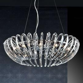 Suspension en cristal transparent Ariadna - 66 cm