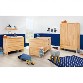 Chambre de bébé Fagus (3 éléments) - Hêtre - Huilé, Pinolino