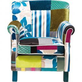 Karedesign Fauteuil Patchwork Stripes Kare Design