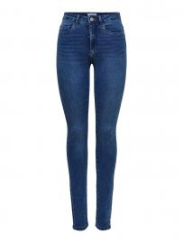 ONLY Onlroyal High Waist Skinny Fit Jeans Damen Blau