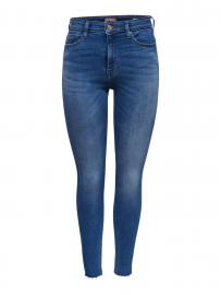 ONLY Onlpaola High Waist Skinny Fit Jeans Damen Blau
