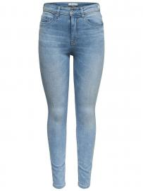 ONLY Jdyjona High Light Blue Skinny Fit Jeans Damen Blau