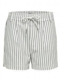 ONLY Poptrash Shorts Damen White