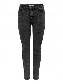 ONLY Jdytyga High Acid Skinny Fit Jeans Damen Grau