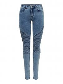 ONLY Onlroyal Reg Acid Skinny Fit Jeans Damen Blau