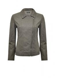 **Only Khaki Biker Jacket - Dorothy Perkins