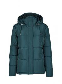 Green Short Padded Jacket - Dorothy Perkins