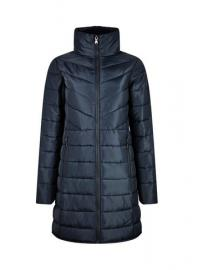 Navy Long Padded Jacket With Recycled Wadding - Dorothy Perkins