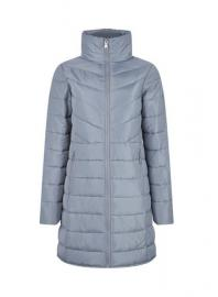 Grey Long Padded Jacket with Recycled Wadding - Dorothy Perkins