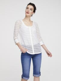 heine TIMELESS Bluse transparent