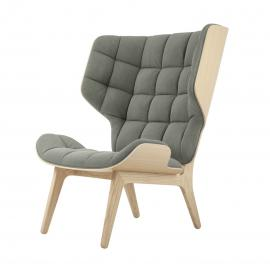 Norr11 Mammoth Chair - Fauteuil - Canvas- Hout - Retro - Vintage - Katoen - Linnen - Design - Lounge stoel - Scandinavisch