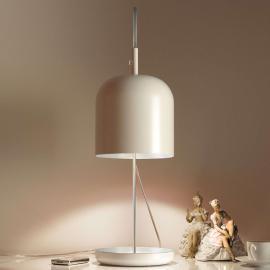 Lampe à poser LED moderne Puk, blanche